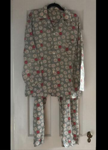 Vintage Very Rare No Parking Print Textron Pajamas