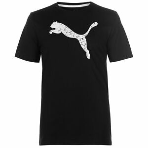 eaacad2b33 Puma Mens Big Cat QT T Shirt Crew Neck Tee Top Short Sleeve ...