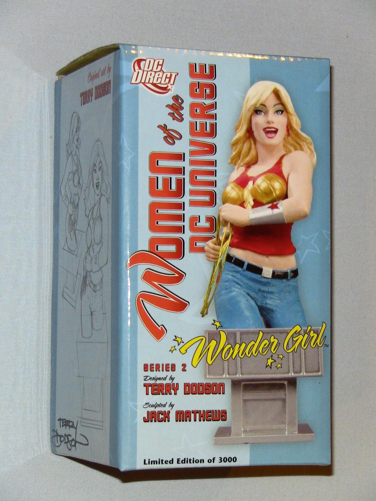 DC Direct Women Of The DC Universe Series 2 Wonder Girl Bust New MIMB