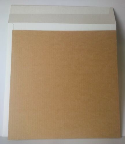 "100 x 12""LP Strong White Record Mailers + 200 x Stiffeners Layer Pads"