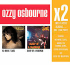 No More Tears/Diary of a Madman [Box] by Ozzy Osbourne (CD, Oct-2008, 2 Discs, Legacy)