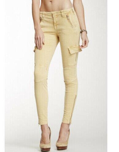 J BRAND Womens 1337vk120-VIN Jeans Skinny Canard Size 26