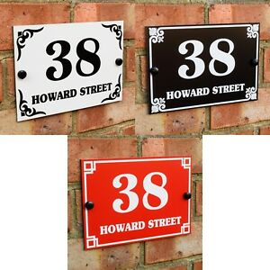 HOUSE-DOOR-GATE-NUMBER-PLAQUE-WALL-SIGN-NAME-PLATE-ALUMINIUM