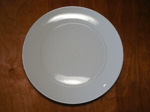 Image is loading Target-Home-Moon-White-Coupe-Set-of-4- & Target Home Moon White Coupe Set of 4 Dinner Plates 10 1/2