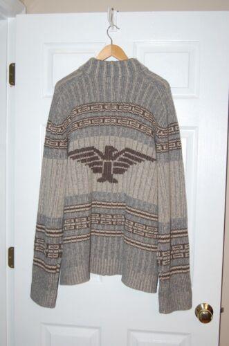 Sweater Mens Xl Cardigan Territory ritssluiting 100 lamswol Ahead The volledige SEACXwxxq