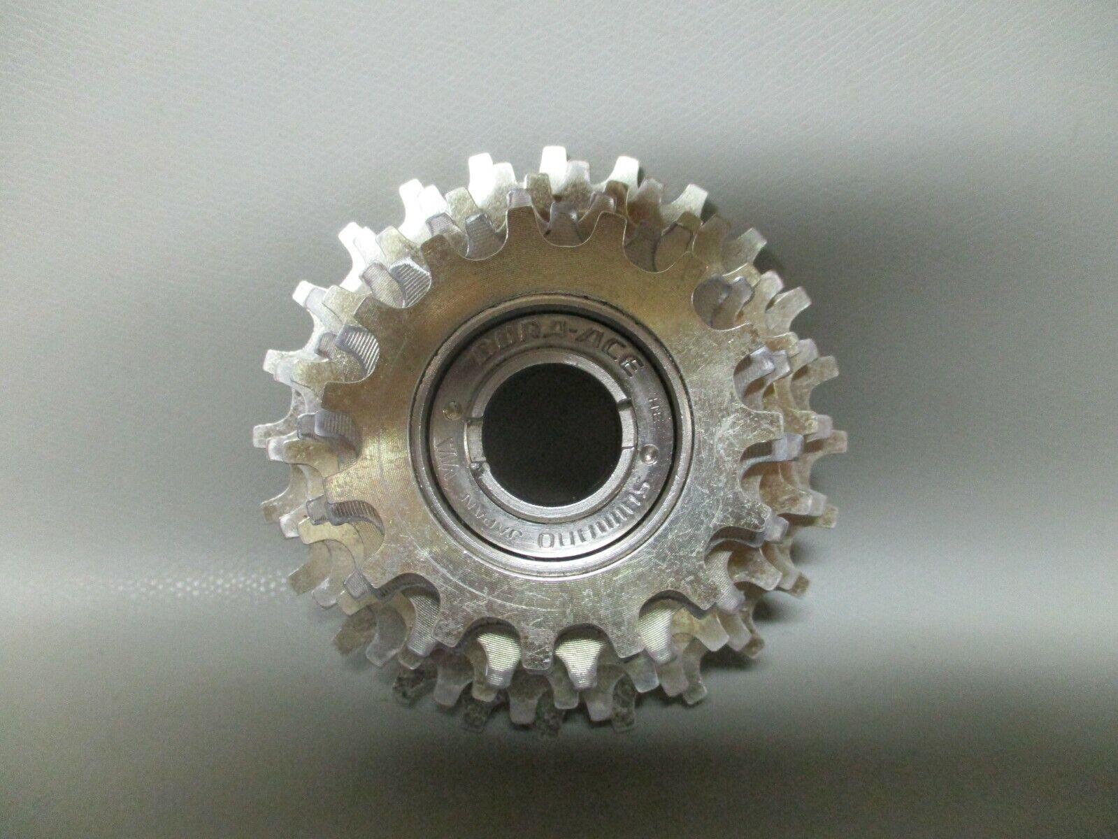 Shimano Dura Ace EX freewheel - 6 speed - 15-24T - 6s - VGC