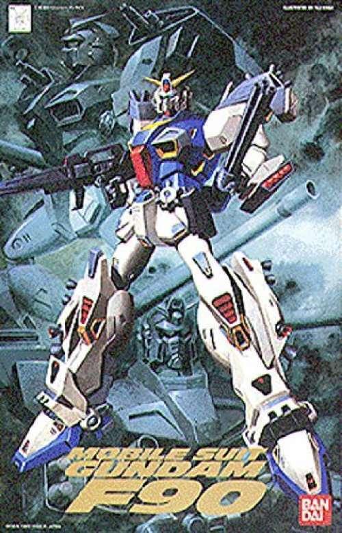 1  100 Gundam F -90 (masstankvapen   variant typ ADS 3 -styck) Gunpla