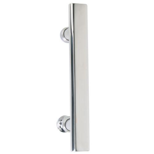 Modern Flat Tube Style Bathroom Bath Room Door Pull Handle Hardware