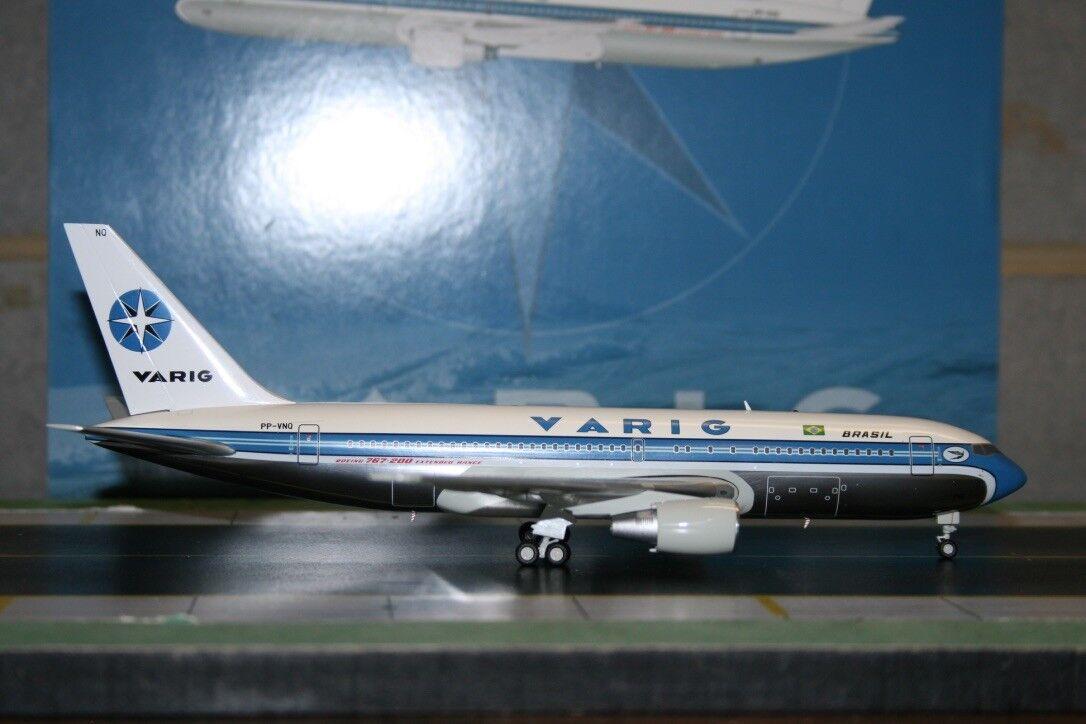 JC Wings 1 200 Varig Brasil Boeing 767-200 PP-VNQ (XX2716P) Die-Cast Model Plane
