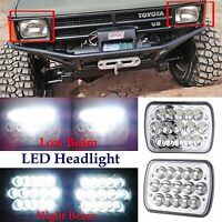 "7""x6"" LED Headlights Sealed Beam Square Headlamps For Toyota Pickup Truck 2Pcs"