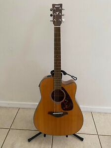 Yamaha FX370C Acoustic Electric Guitar FGX 700 SC Acoustic Electric PICK UP ONLY