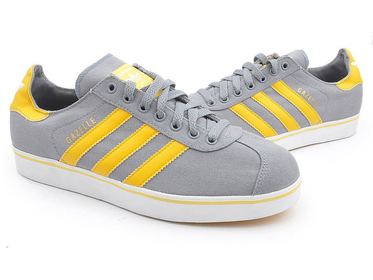 FW15 ADIDAS SHOES GAZELLE SUMMER CANVAS CANVAS GREY Q23158 CHAUSSURE SHOES