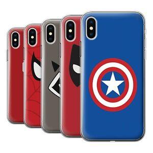 Gel-TPU-Case-for-Apple-iPhone-X-10-Super-Hero-Comic-Art