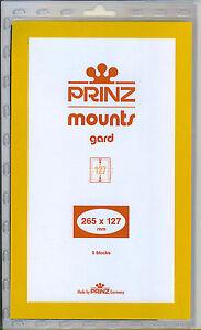 Courageux Paquet De 5 Prinz Noir Mounts 265 X 127