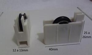 1unidad Ruedas De Ventanas Correderas P3 Repuestos Aluminio Rodamientos Climalit Ebay