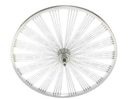 LOW RIDER LOWRIDER BIKE bicycle 26  Fan 144 Spoke REAR Free Wheel 14G Chrome
