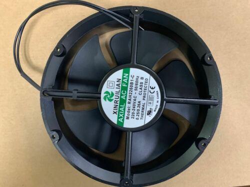 XINRUILIAN RAH2260B1-C 220V 0.26A 22060 22CM 2-wire high temperature cooling fan