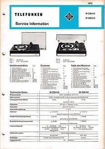 MANUAL-INSTRUCCIONES-DE-SERVICIO-PARA-RADIO-TELE-W-238-W-258