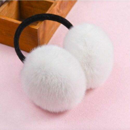 Women Fur Earmuffs Cute Korean Fashion Style Winter Ear Warmers Soft Fluffy Faux