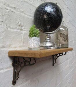En-chene-massif-bois-handmade-etageres-rustique-en-bois-etagere-Fonte-etagere-Parentheses