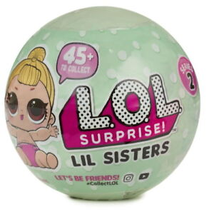 DOLL BALL LITTLE SISTER REAL AUTHENTIC MGA LOL SURPRISE WAVE 1 SERIES 3