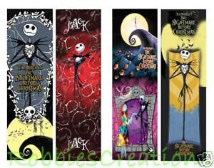 image is loading 2 lot set nightmare before christmas bookmarks jack