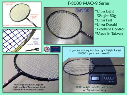 Genji Sports Ultra Light Badminton Racket F-8000