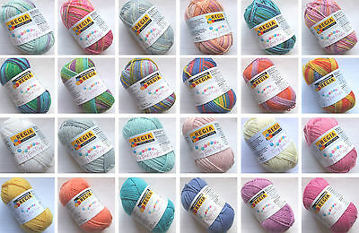 (11,80€/100g) My first Regia 4-fädig 25 g Knäuel Babywolle Wolle Sockenwolle
