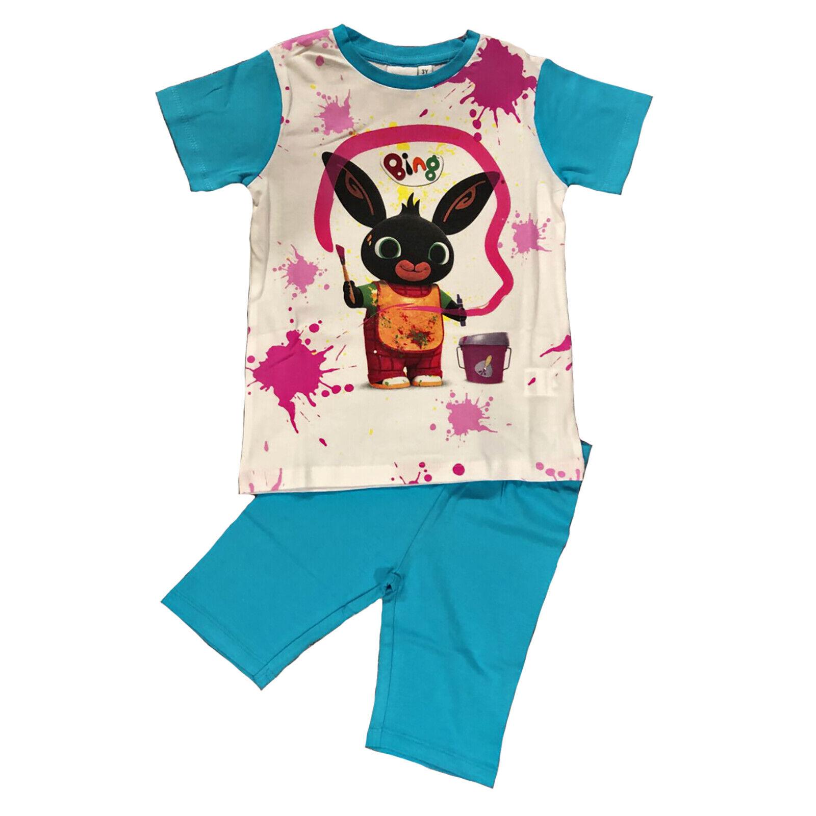 a037ee0aaaa2 Completo T-shirt con Leggings Bing 1 2 3 4 5 anni Bambina Estate ...