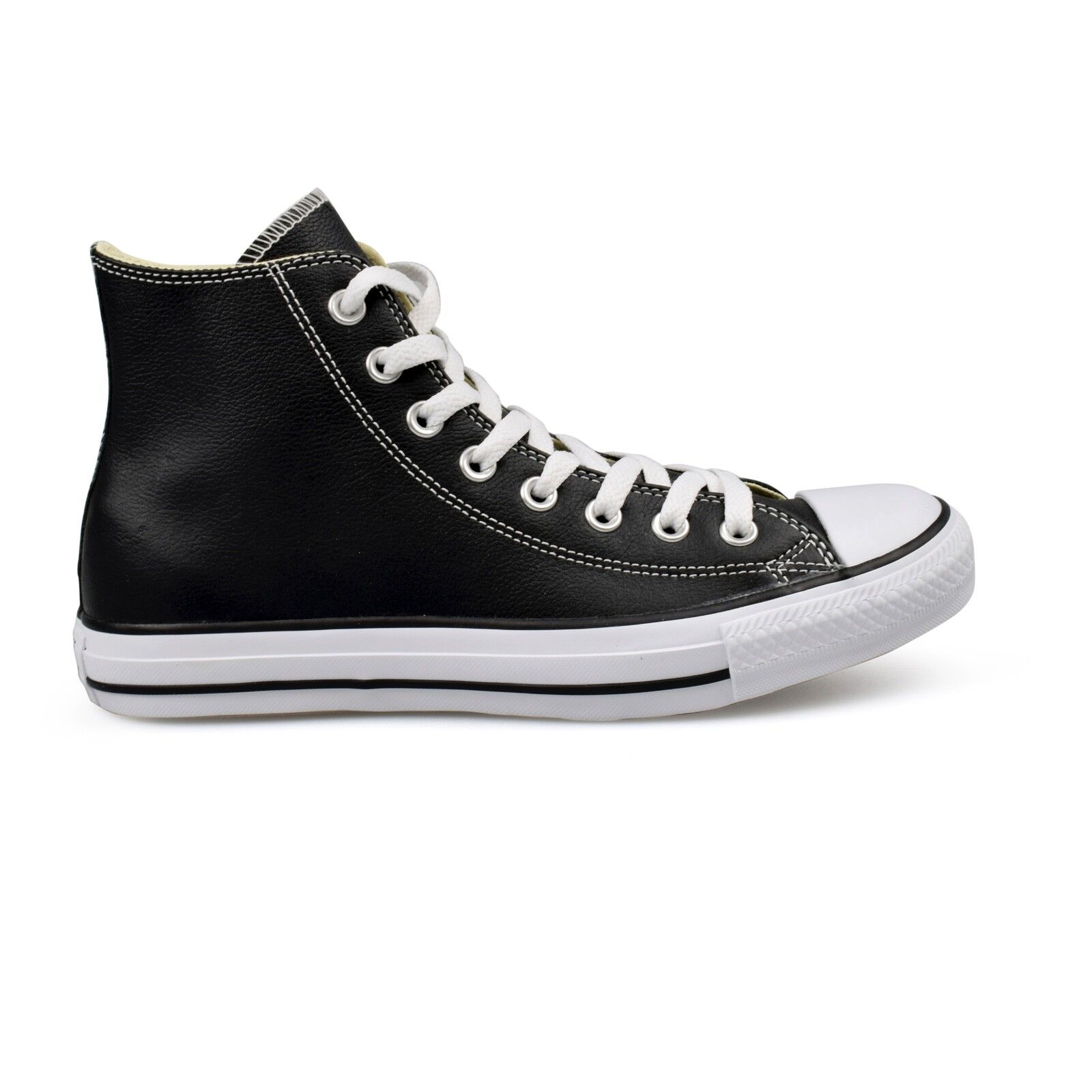 Converse Chuck Taylor All Star Cuero High Top Zapatillas Zapatillas Zapatillas Unisex Negro Nuevo  elige tu favorito