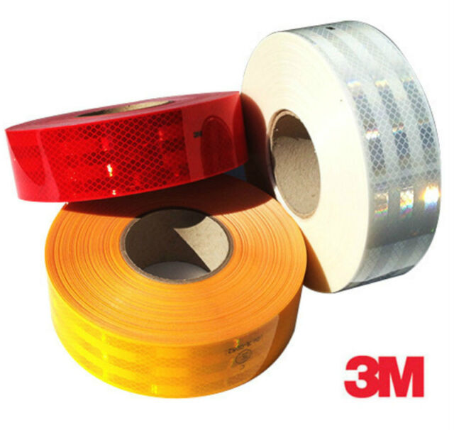 3M Dia Grade™ ECE104  983 Vehicle Conspicuity Reflective Tape Amber 55mm x 50M