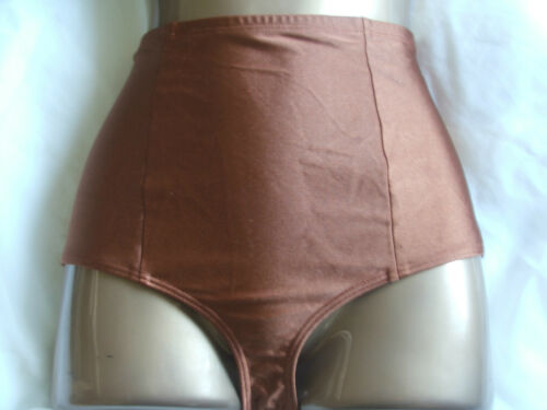 AMERICAN APPAREL HIGH WAISTED BIKINI BOTTOMS SWIM PANTS-SIZE XS