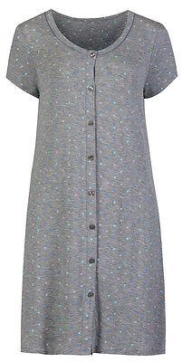 Marks & Spencer Womens Short Sleeve Nightdress New M&S Nightshirt Nightie Top