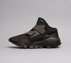 Mens-Y3-Ryo-Core-Black-Olive-Black-Trainers-TSF4-RRP-269-99