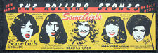 ROLLING STONES REPRO 1978 SOME GIRLS ALBUM PROMOTIONAL PROMO POSTER . NOT CD