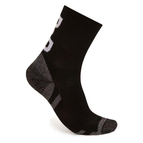 Blue or Hi-Viz D2D Comfort Performance Cycling Socks Red Black