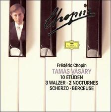 Chopin: 10 Etden; 3 Walzer; 2 Nocturnes; Scherzo; Berceuse ( DG) (CD516)