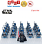 thumbnail 14 - 21pcs lot STAR WARS Clone Trooper Commander Fox Rex Mini toy building block