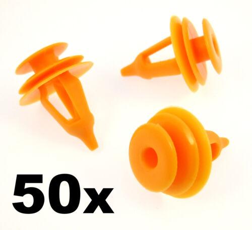 50x Toyota Plastic Trim Clips for Door Cards Door Panel Fastener Clips Fascia
