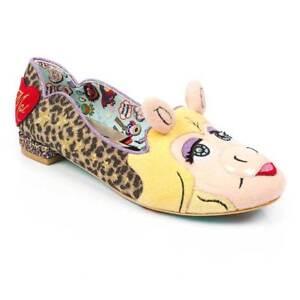 Irregular-Choice-Her-Moiness-Womens-Piggy-Muppets-Flats-UK-Size-3-8