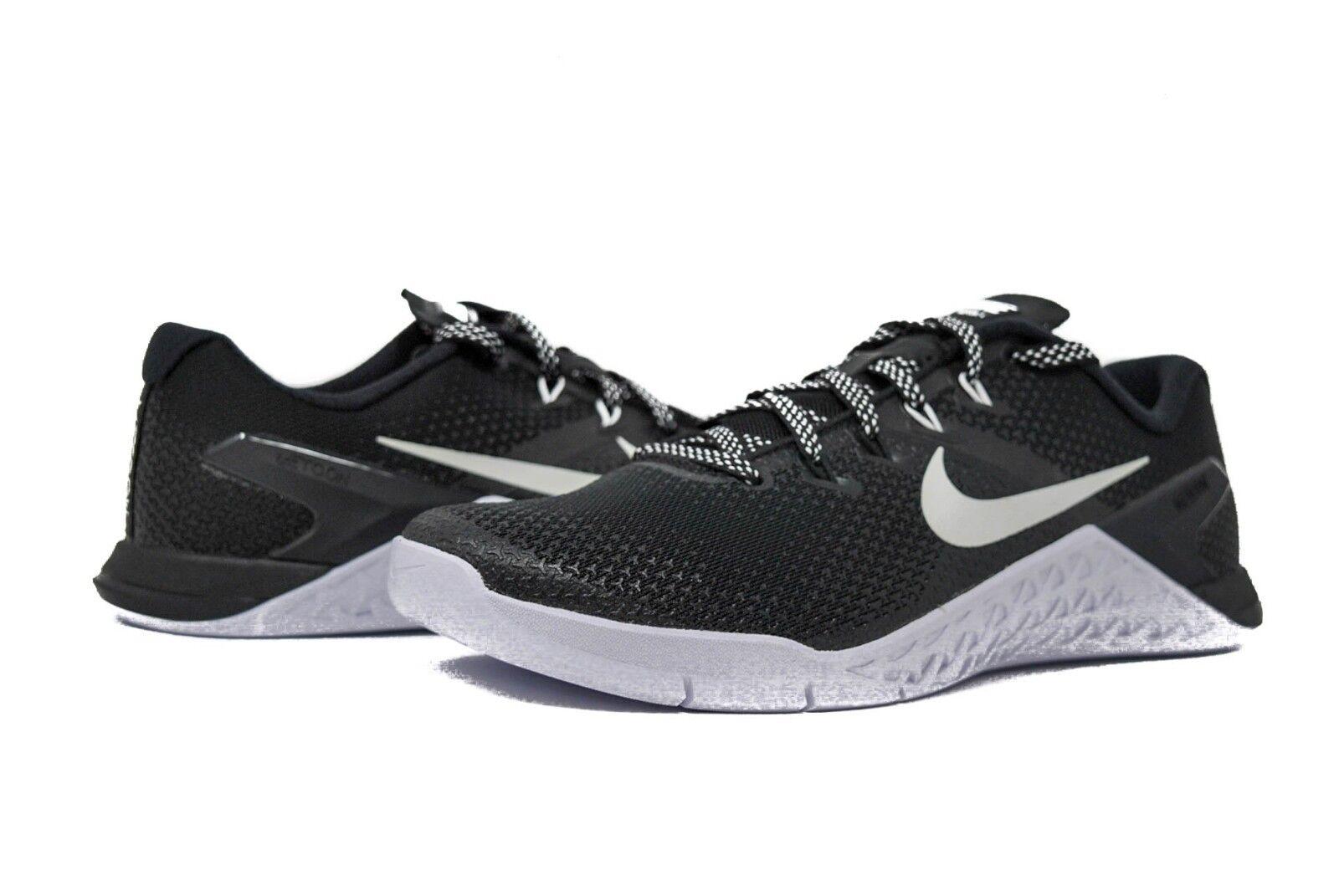 Nike metcon 4 ah7453-003 uomini in nero, bianco o nero sz gli 8 e i 13 nuovi