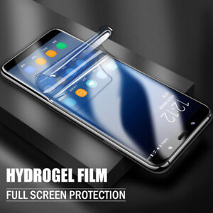 For LG K10 K8 2018 V50 ThinQ G8 Soft Screen Protector Hydrogel Film Full Cover