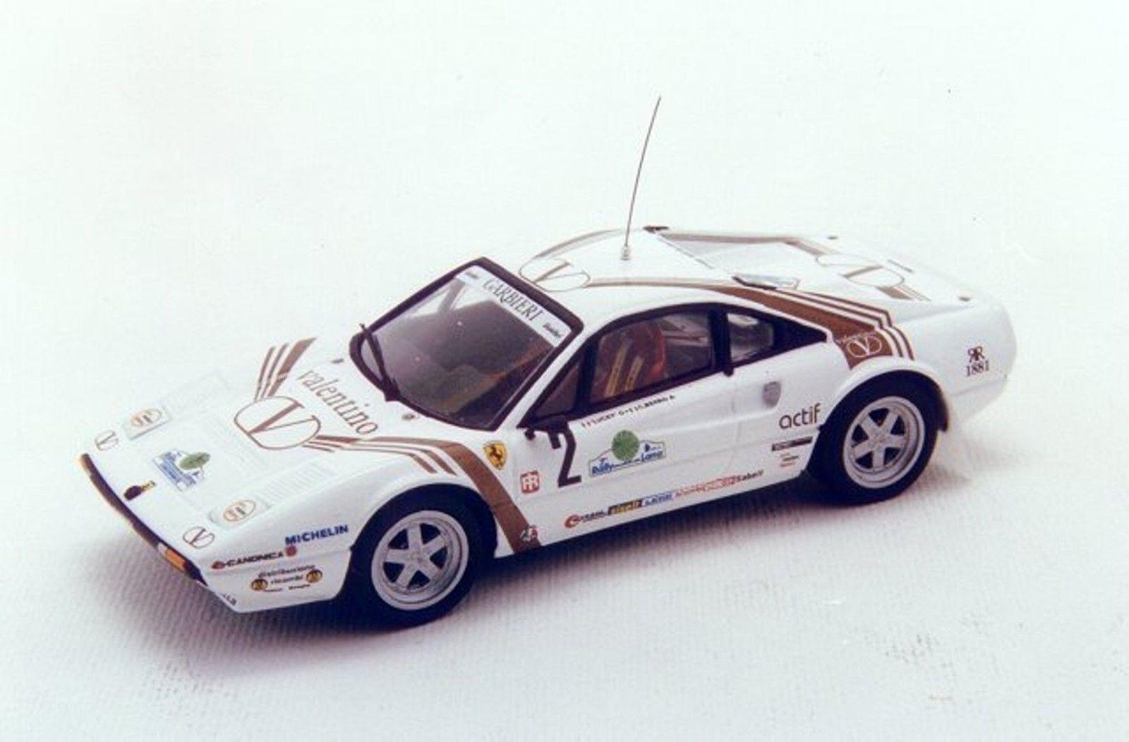 el estilo clásico Kit de de de  259 Ferrari 308 Gr. B  2 RALLY DELLA LANA 1984 Valentino-Racing 43 1 43  edición limitada