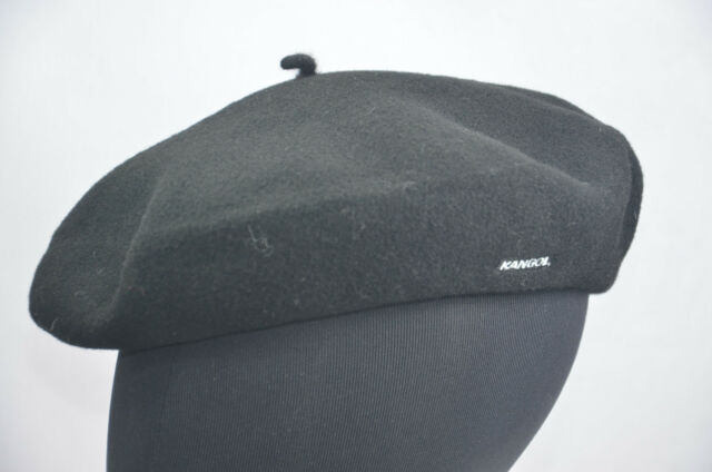 5cc3b210a Kangol Brown Beret Cap Hat 100 Wool 0252HT Medium but Comes up Small