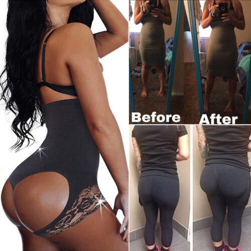 Shaper mint Tummy Control High Waist Shapewear Boned Girdles Buttocks Lifter US
