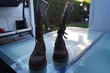 TAMARIS Sympatex Winter Stiefel Schuh Gr.40 vintage braun warm gefüttert TOP #98