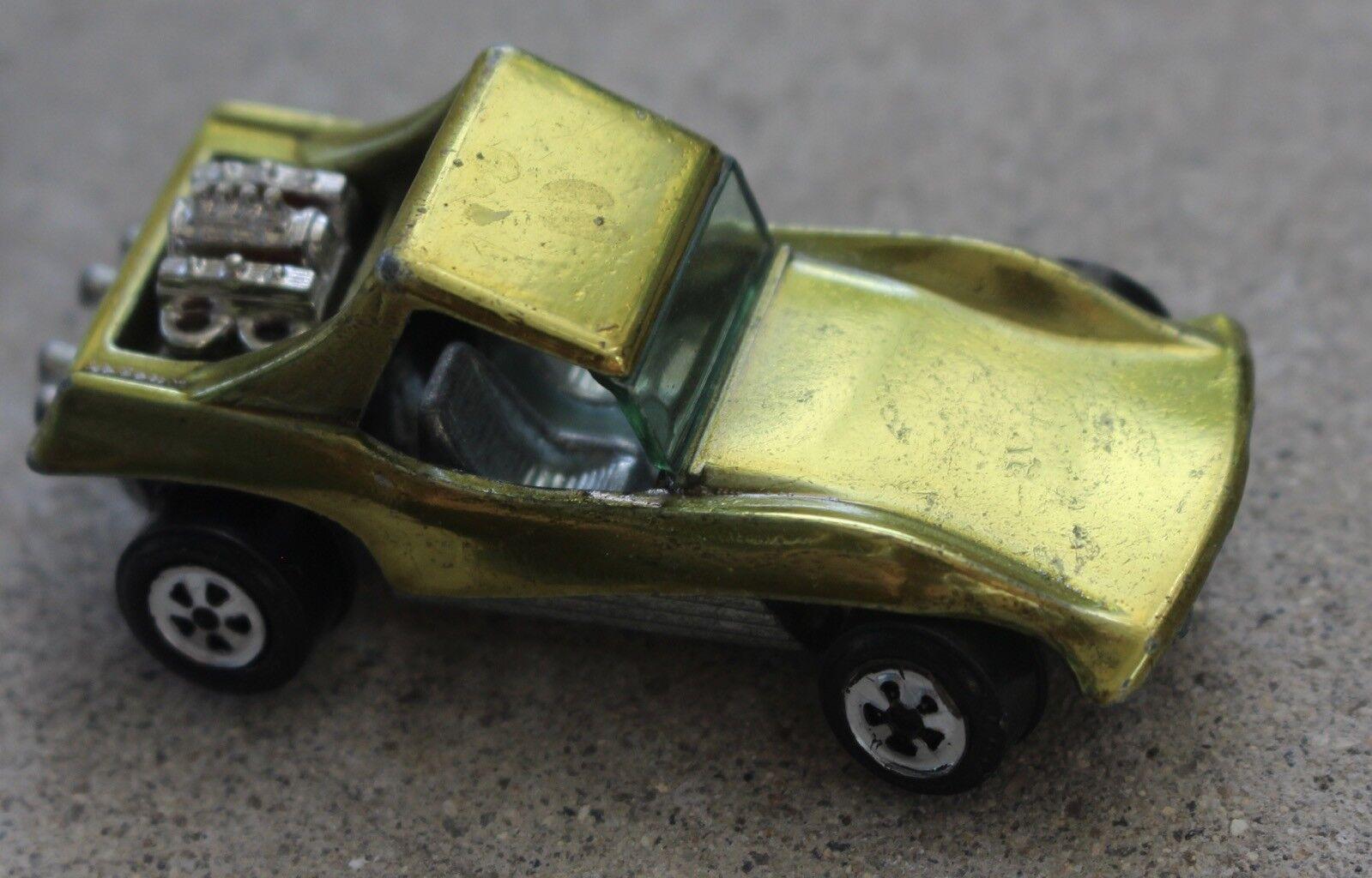 VINTAGE JOHNNY LIGHTNING Sand Stormer Topper jaune Diecast voiture rougeline Era RARE