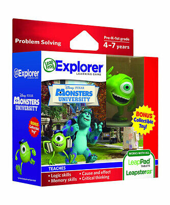 LeapFrog Leapster LeapPad Kids Learning Game Disney Pixar ...