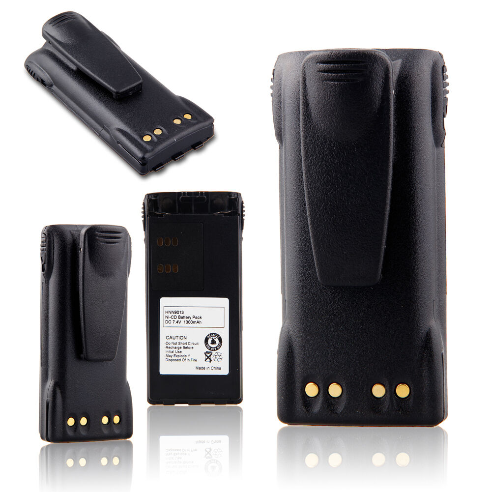 10X HNN9013 Ni-MH Battery for MOTOROLA GP328 GP360 PRO5150 GP340 MTX950