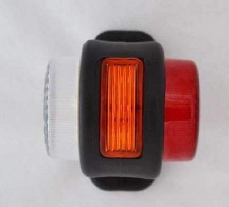 PAIR LED SIDE OUTLINE POSITION MARKER LIGHTS FOR TRUCK VOLVO FORD RENAULT 12V